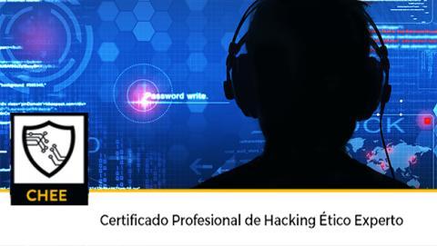 Obtén tu Certificado Profesional de Hacking Ético Experto