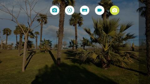 Los modos de cámara que tiene la aplicación