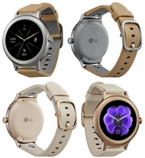 diseño LG Watch Style