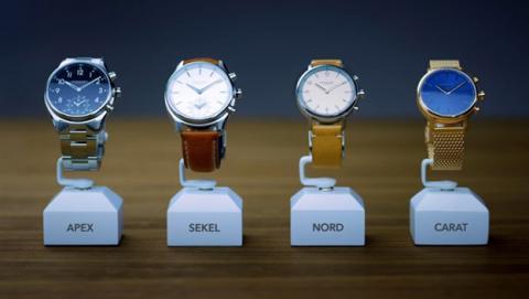 Estos relojes híbridos tienen una autonomía de dos años