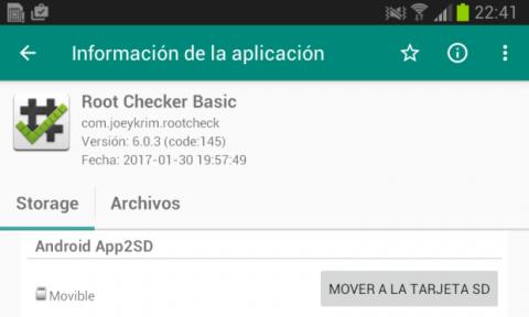 en Link2SD te permite mover las apps a la tarjeta de tu Android