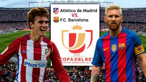 Cómo ver el canal GOL para seguir en directo el Atlético de Madrid vs Barcelona de Copa