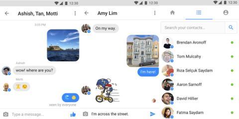 Actualización de Messenger Lite 4.1