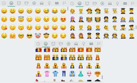 Los emojis que trae WhatsApp Beta 2.17.43