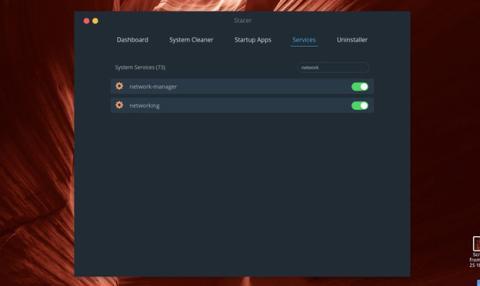 La cuarta pestaña de este programa para optimizar Ubuntu