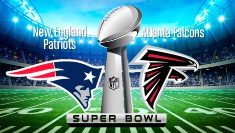 Dónde y cómo ver la Super Bowl online en directo por Internet: Patriots vs Falcons