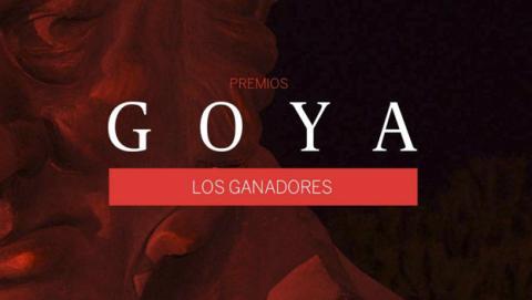 Todos los ganadores de los Premios Goya 2017