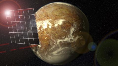 El reto de parar una nave en un viaje interstelar