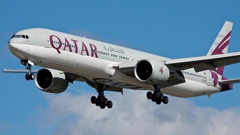 Qatar Airways estrena vuelo con mayor tiempo en el aire
