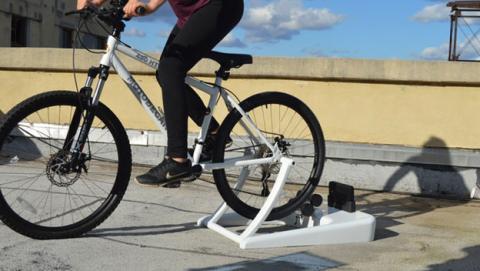 generar electricidad bici