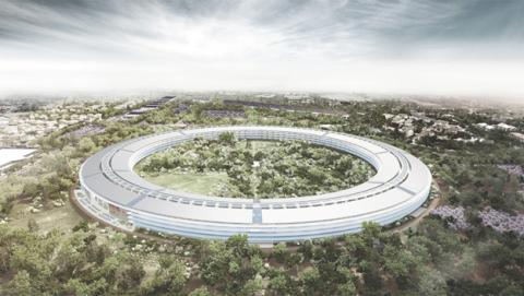El proyecto de construcción del Campus 2 de Apple
