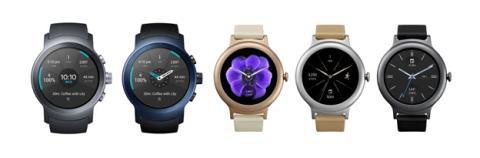 Los relojes de LG con Android Wear 2.0