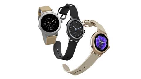 Los relojes inteligentes que ha presentado LG