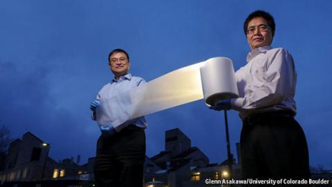 Este material aislante mantiene la temperatura de una casa cuando fuera hace mucho calor