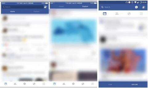 explorar en facebook