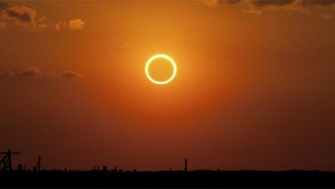 El anillo de fuego que formará la Luna a finales de este mes de febrero