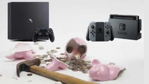 Cómo comprar una Nintendo Switch o PS4 Pro sin gastarte dinero