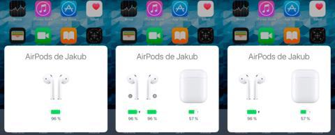 Bateria Airpods Apple