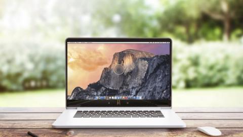 Portátil con  GMac OS X
