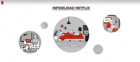 Los infieles en Netflix
