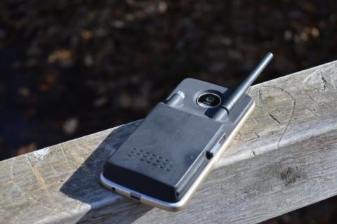 moto mod walkie talkie