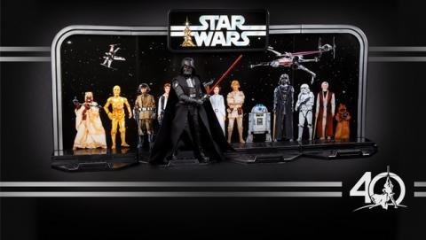40 Aniversario de Star Wars, Hasbro presenta las figuras