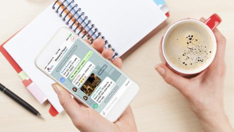 Telegram te permite crear un tema personalizado