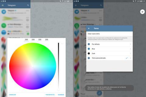 Así puedes crear tu propio tema en Telegram