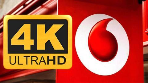 Ver partidos de fútbol de La Liga en directo, series y películas en 4K a través de Vodafone ONE