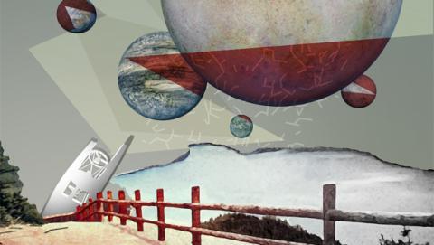 La NASA publica los pósters oficiales de los siete exoplanetas del nuevo sistema solar