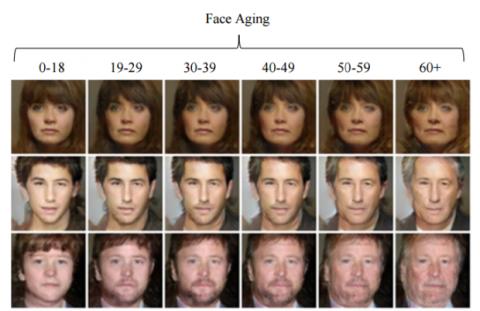 Red neuronal envejecimiento