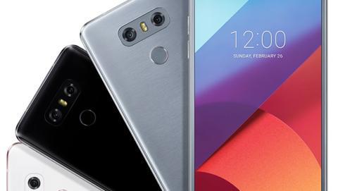 Estos son los tres colores del nuevo LG G6