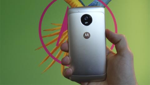 El Moto G5 estrena carcasa de metal
