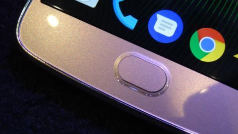 Lector de huellas del Moto G5 Plus