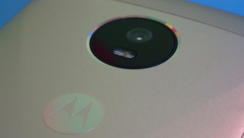 Detalle de la cámara del G5