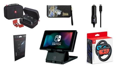 Los mejores periféricos y accesorios para Nintendo Switch