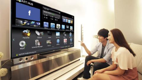 Samsung Smart TV Facebook