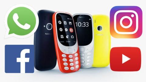 Nokia 3310: internet, enviar Whatsapp y otras cosas que se pueden o no se pueden hacer