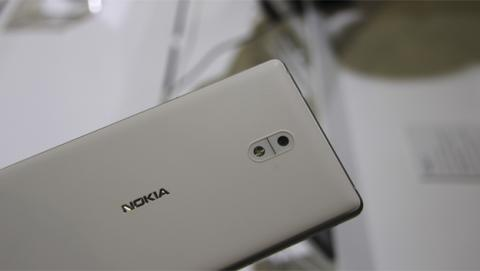 La versión de color blanco del Nokia 3