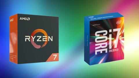 Comparativa procesadores Intel Core i7 y AMD Ryzen 7 en relación calidad - precio