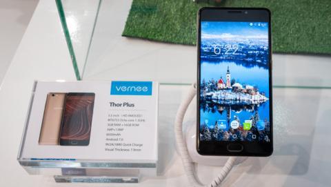 Vernee presenta tres nuevos móviles en el MWC 2017