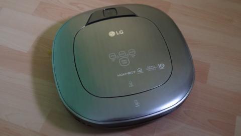 El robot de limpieza LG Hombot Turbo