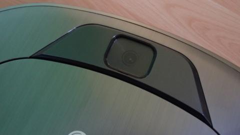 El sensor del LG Hombot Turbo que registra la distribución de la casa