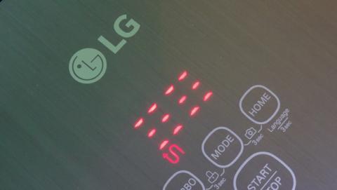 Pantalla del LG Hombot Turbo