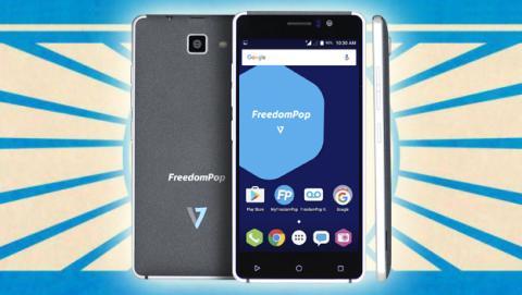 FreedomPop V7, el móvil barato de la operadora