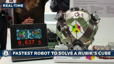 robot cubo rubik