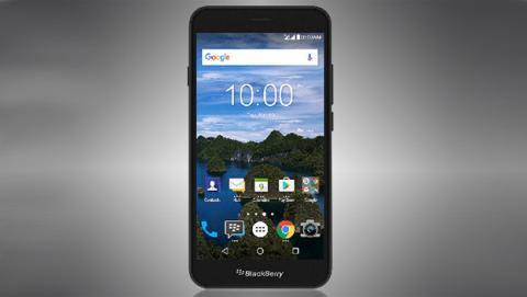 BlackBerry Aurora es un móvil Android que no trae teclado físico