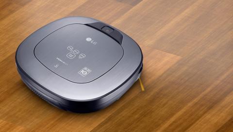 LG Hombot Turbo (VR9647PS), análisis del robot de limpieza con sistema de videovigilancia