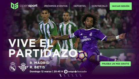 OpenSport, ver fútbol gratis en streaming online