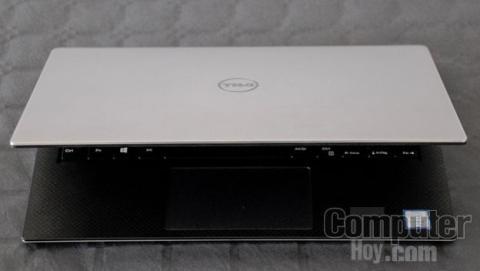 Acabado en aluminio del Dell XPS 13